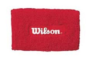 WILSON LOGO X-TRA LONG  WRISTBANDS