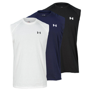 UNDER ARMOUR MENS TECH SLEEVELESS TEE