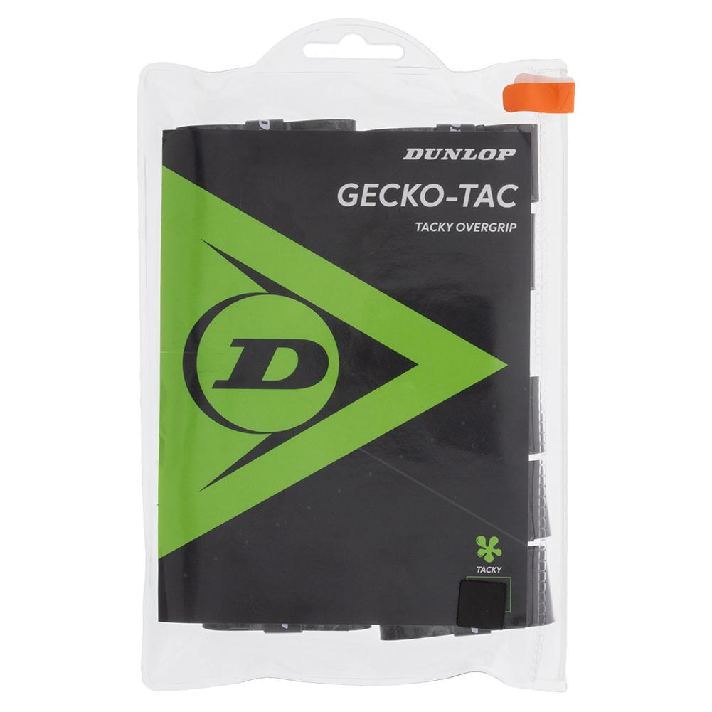 Gecko- Tac Overgrip 12 Pack Black