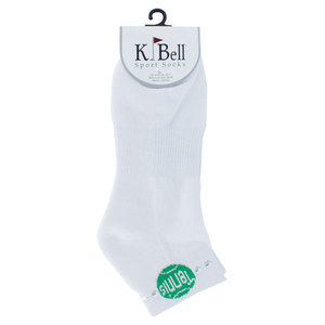 K BELL SOCKS TENNIS BALL 1/2 CUSION FOOTIE