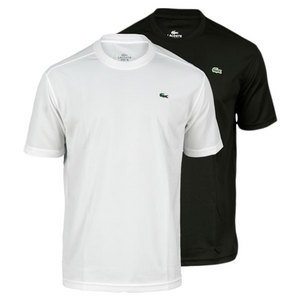 LACOSTE MENS SPORT FIT SUPER DRY TENNIS TEE