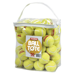 TOURNA PRESSURELESS 50 TOTE BAG TENNIS BALLS
