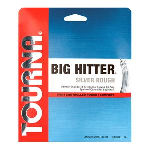 TOURNA BIG HITTER SILVER ROUGH 16G STRING