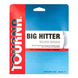TOURNA BIG HITTER SILVER ROUGH 17G STRING