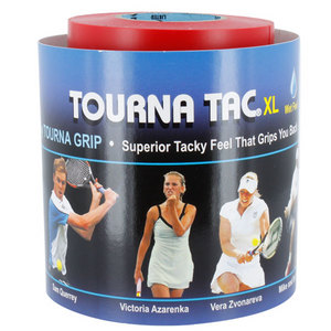 TOURNA TOURNA TAC XL 30 PK BLACK OVERGRIP