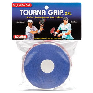 Tourna Grip XXL 10 Pack Blue Tennis Overgrip