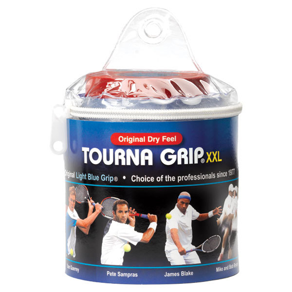 Tourna Grip Xxl 30 Pack Blue Tennis Overgrip