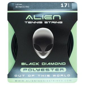 ALIEN BRAND BLACK DIAMOND 17G TENNIS STRING