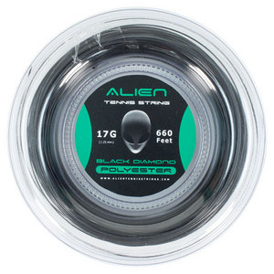 ALIEN BRAND BLACK DIAMOND 17G REEL TENNIS STRING