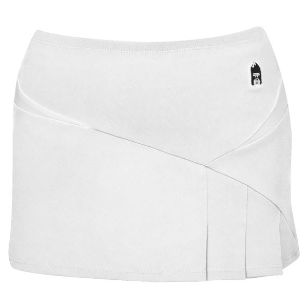 Compete Womens Power Skirt (Tights) DUC Womens Power Skirt DUC Womens Power Skirt is modern hip and of course fit for the court This skirt plays up to its full potential with its superb features These features include pleats at front left bottom builtin shorts for comfort and coverage and p