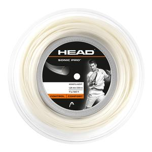 HEAD SONIC PRO 17G WHITE TENNIS REEL