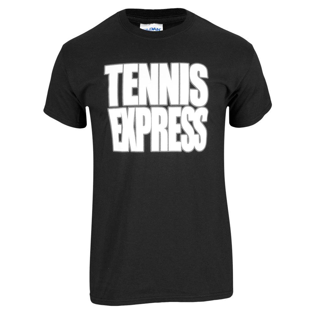 Tennis Express Unisex Tee In Black