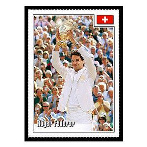 SPOTLIGHT TRIBUTE ROGER FEDERER CARD