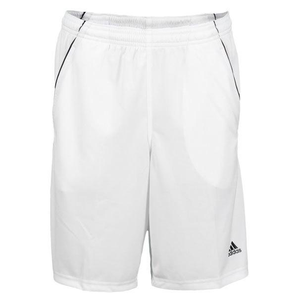 Boy's Basic Bermuda Tennis Short White