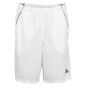 adidas BOYS BASIC BERMUDA TENNIS SHORT WHITE
