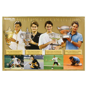 TENNIS LIFE MAGAZINE FEDERER GRAND SLAM COLLECTION