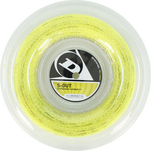 S-Gut 17G Yellow Tennis String Reel