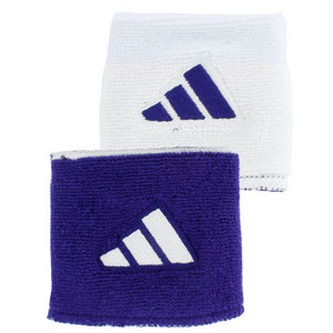 adidas INTERVAL RVRSBL TENNIS WRISTBAND PUR/WH