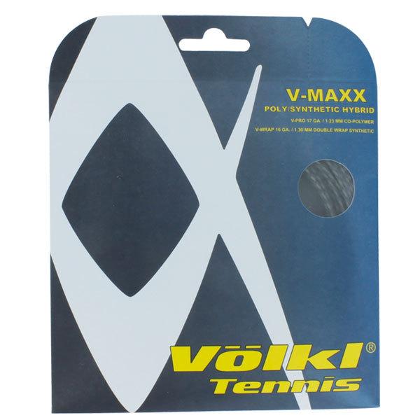 V- Maxx Poly 17g/Synthetic 16g Hybrid Tennis String
