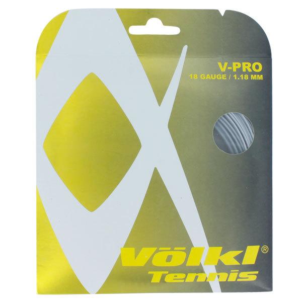V- Pro 18g Silver Tennis String
