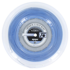 TOPSPIN CYBERBLUE 1.30MM/16G REEL TENNIS STRING