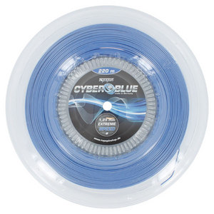 TOPSPIN CYBERBLUE 1.25MM/17G REEL TENNIS STRING