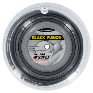 Black Fusion 1.28MM/16G Reel Tennis String