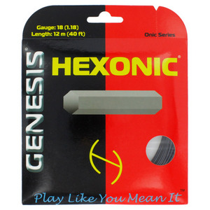 Hexonic Black 1.27/16L Tennis String