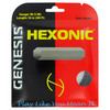 GENESIS Hexonic Black 1.27/16L Tennis String