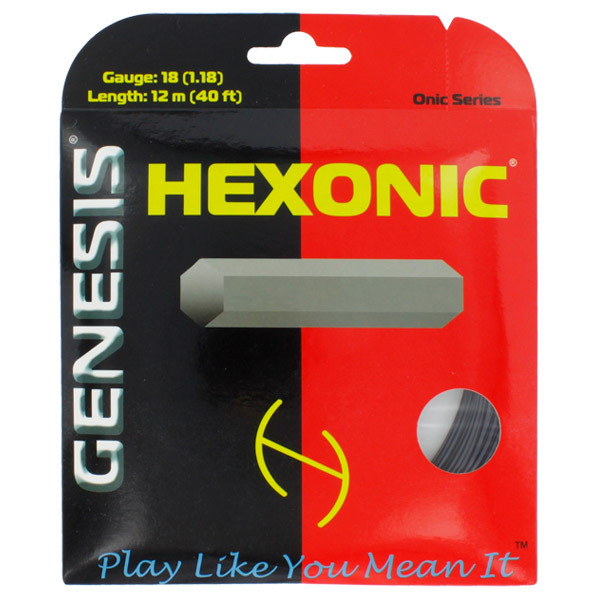Hexonic Black 1.18/18l Tennis String