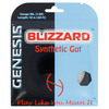 GENESIS Blizzard Syn Gut 1.25MM/16L Tennis String