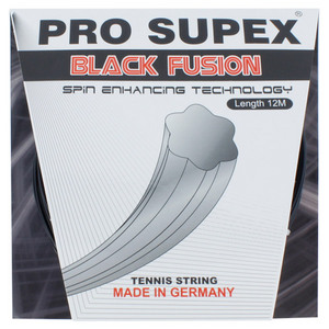 Black Fusion 1.28MM/16G Tennis String