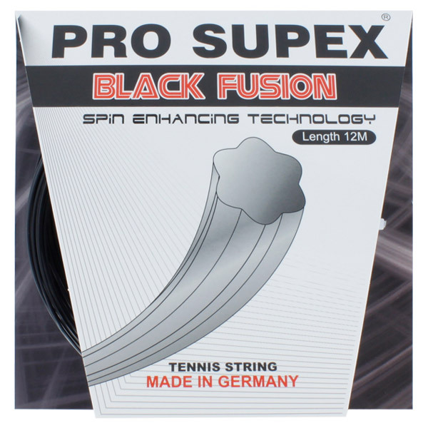 Black Fusion 1.19mm/18g Tennis String