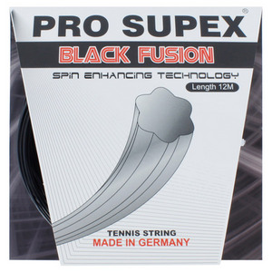 PRO SUPEX BLACK FUSION 1.19MM/18G TENNIS STRING