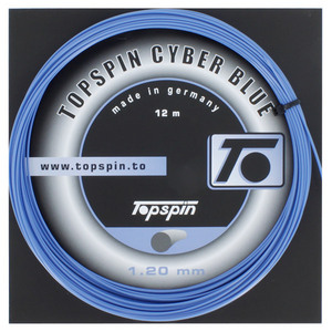 TOPSPIN CYBERBLUE 1.20MM/18G TENNIS STRING