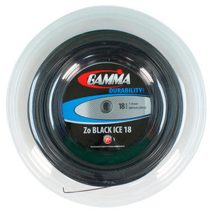GAMMA ZO BLACK ICE 18G REEL TENNIS STRING