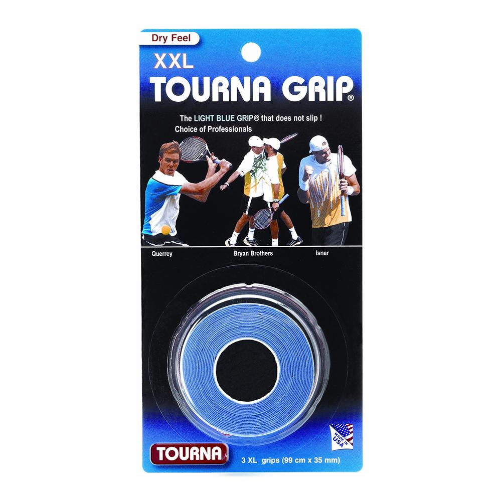 Tourna Grip Xxl 3 Pack Blue Tennis Overgrip