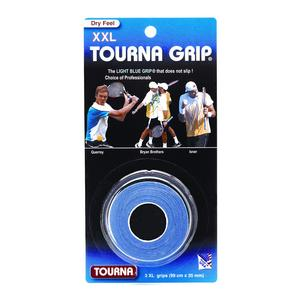 TOURNA TOURNA GRIP XXL 3 PACK BLUE OVERGRIP