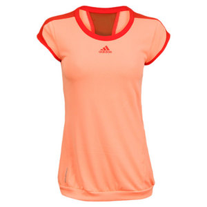 adidas WOMENS ADIZERO CAP-SLEEVE TENNIS TOP