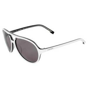 LACOSTE WOMENS ACAPULCO WHITE/GREY SUNGLASSES
