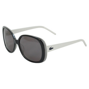LACOSTE WOMENS BRISBANE GREY/BEIGE SUNGLASSES