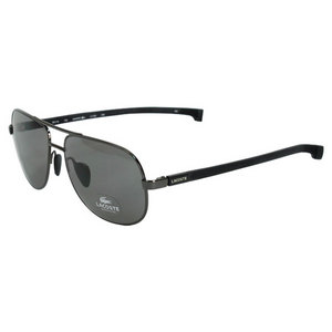 LACOSTE MENS L115S SHINY GREY SUNGLASSES