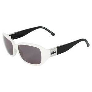 LACOSTE WOMENS CAMBRIDGE WH/ KHAKI SUNGLASSES