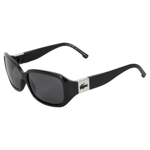 LACOSTE WOMENS CAMBRIDGE BLACK SUNGLASSES