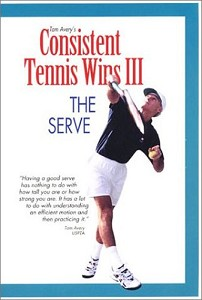 TOM AVERY The Serve Vol III DVD Consistent Tennis