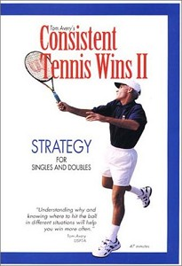 TOM AVERY Strategy Vol II DVD Consistent Tennis