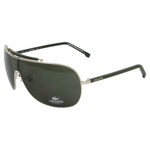 LACOSTE WOMENS LOS ANGELES SHINY GOLD SUNGLASSES