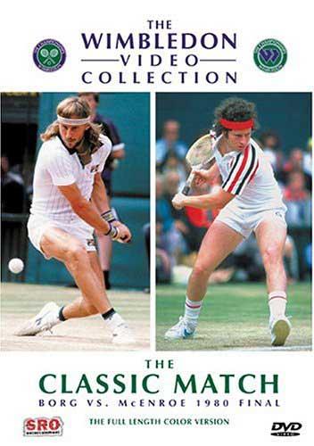 1980 Wimbledon Final Borg V.Mcenroe Dvd
