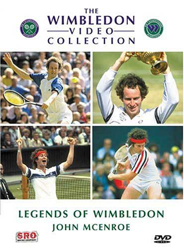 Legends Of Wimbledon John Mcenroe Dvd