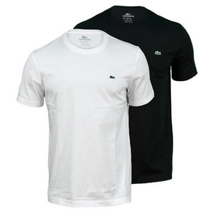 LACOSTE MENS SHORT SLEEVE CLASSIC JERSEY TEE